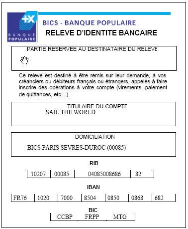 Iban banque casino